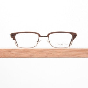 Gold & Wood B33 eyeglasses from Daas Optique