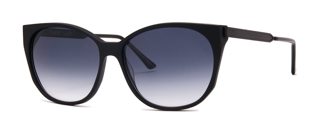 Thierry Lasry Blurry 101 / Gray Gradient Tint 57 -15 -140 Sunglasses