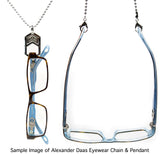 Alexander Daas Eyewear Chain and Pendant