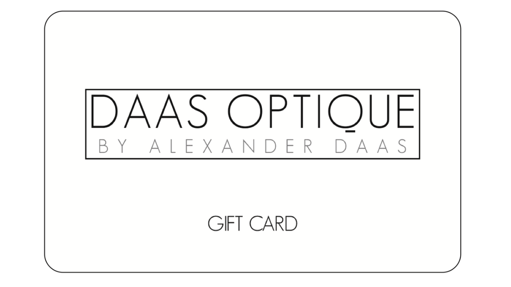 Gift Card: $50  from Daas Optique