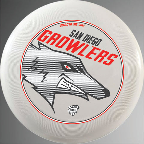 San Diego Growlers Official Disc