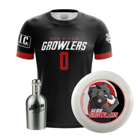 Growler Bundle - Jersey - Disc - Growler