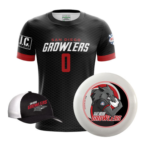 San Diego Growler Holiday Bundle - Jersey - Disc - Hat