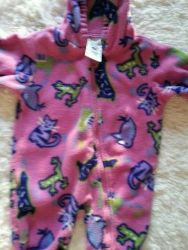 Baby clothes.pink.  6 to 12 months. Columbia girl fall one piece outter wear.