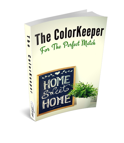 DIY Home Project and Maintenance Organizer. The ColorKeeper