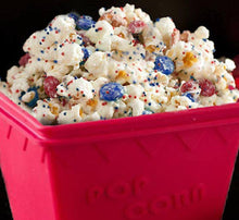 Popcorn Poppers  Silicon Microwavable Popcorn Poppers Replaces Bags No Oil Needed