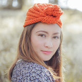 Knitted Lace Turban