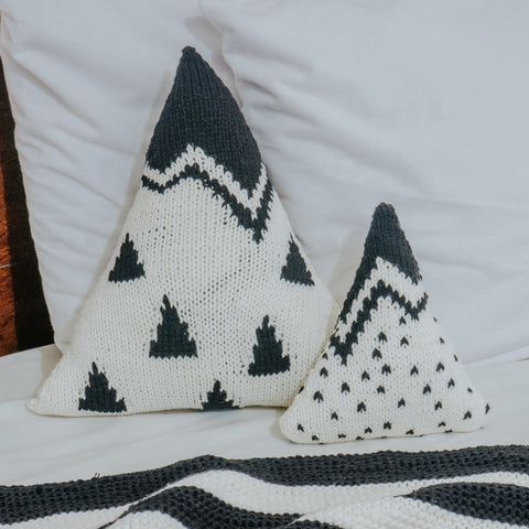 Mountain Range and Cloud (set of Pillows)