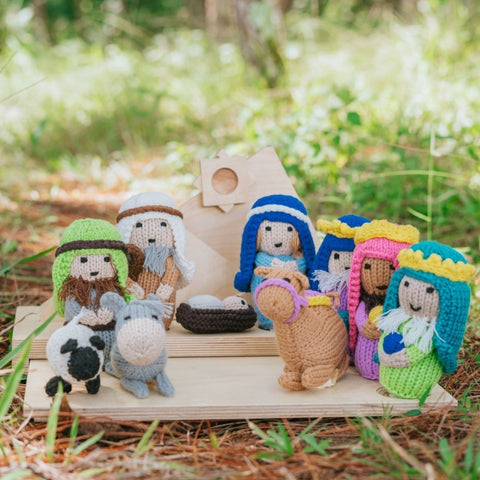 Christmas Nativity Set with Belen