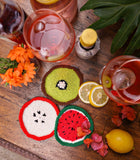 Fruit Cocktail Coasters