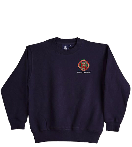 SUMS-Branded Men's Crew-Cut Jumper
