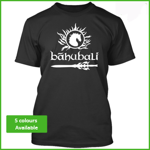 Bahubali Empire logo limited edition tshirt
