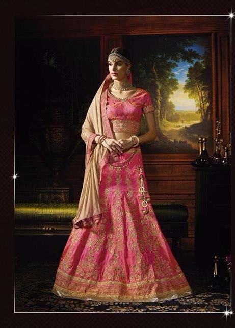Riwaaz Rangrez collection -  Pink lehenga