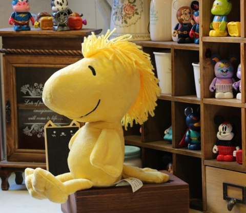 The Peanuts movie plush soft toy : woodstock soft toy