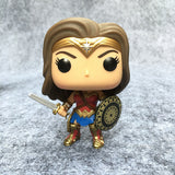 Dc Comics Wonder Woman PVC Action Figure Bobble head Collectible Model Toy