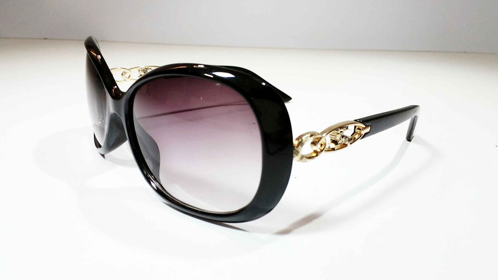 Clemonte black gold sunglasses