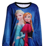 Elsa and Anna full sleeves t shirt