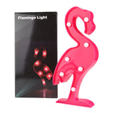 Pink Flamingo LED night light