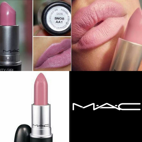 Snob AA1 nude pink mac lipstick lip gloss shade for women