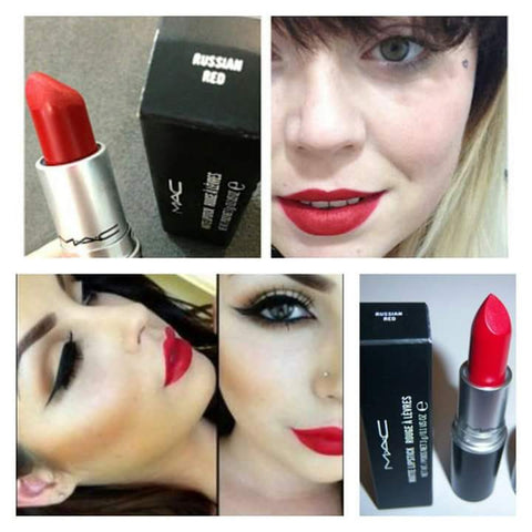 Russian Red mac lipstick lip gloss shade for women
