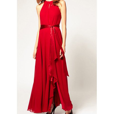 Clemonte Red Valentine sleeveless dress