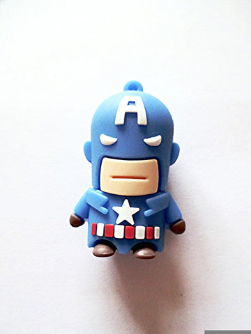 Captain America pen drive - 4GB