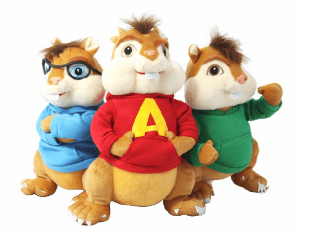 Alvin and the chipmunks plush soft toy 28cm christmas gift for kids