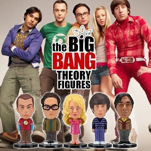 Big Bang Theory mini wobblers