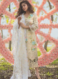 Rang Rasiya Premium Embroidered Lawn 2018 Collection pakistani designer suits - Snowwhite Yellow