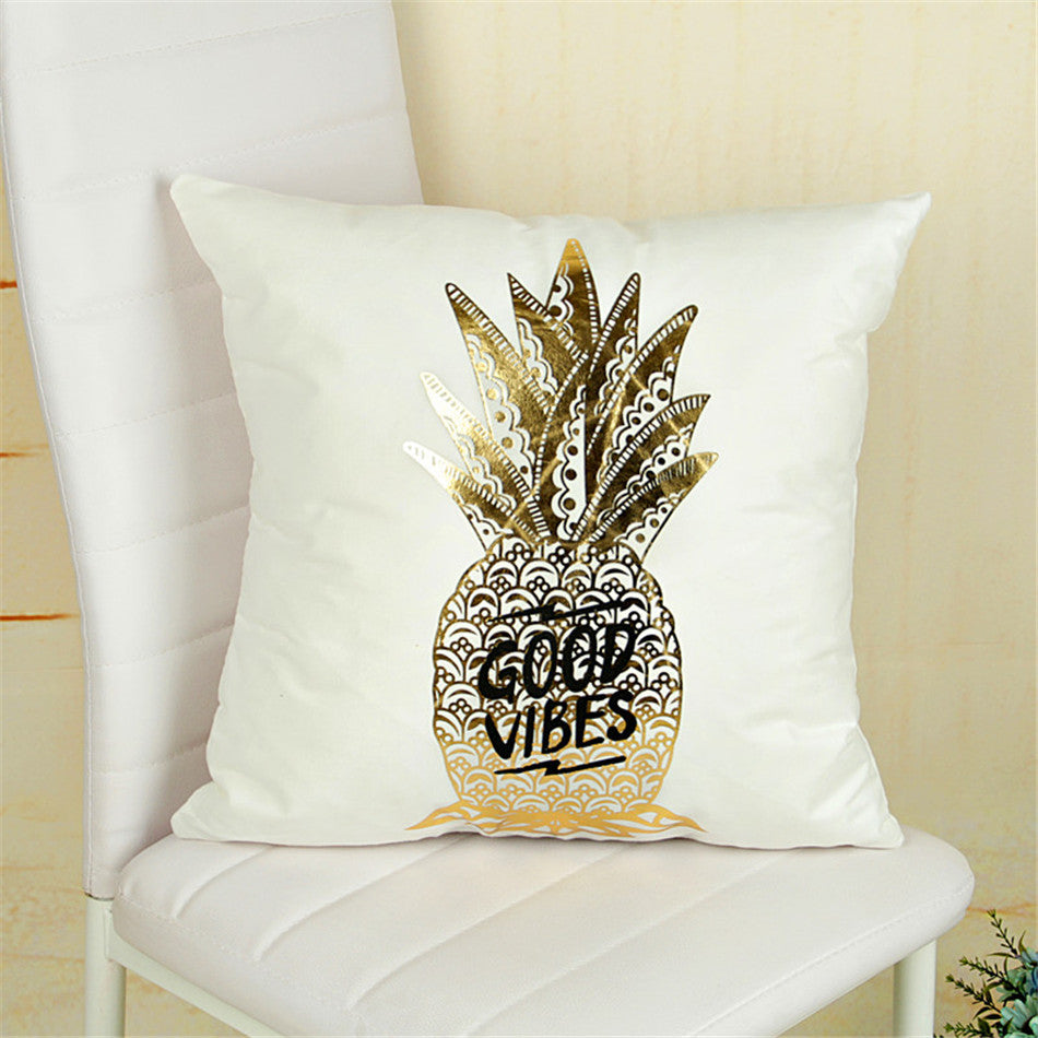 Christmas cushion cover - home decoration - Bling Good vibes