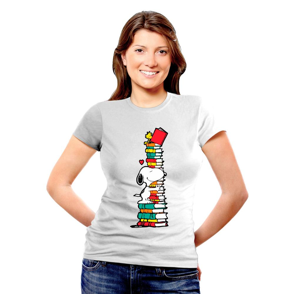 BeCivil Christmas Store : Snoopy Books TShirt