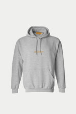 ILUSTRADOS - Hoodie with Logo (Light Gray)