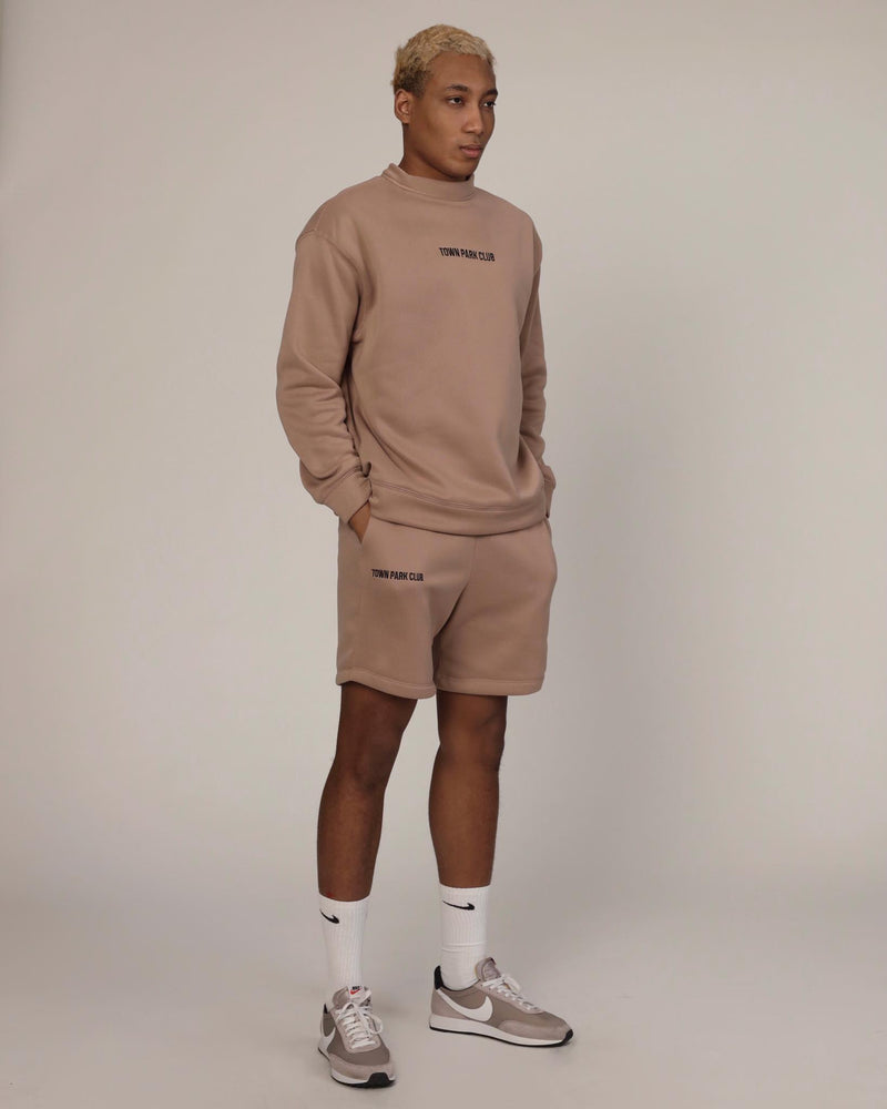 Club Shorts (Tan) by Town Park Club