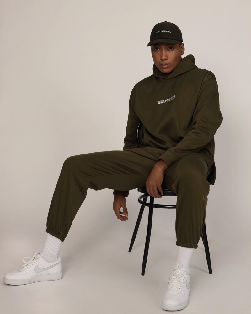 Hoodie (Moss Green) by Town Park Club