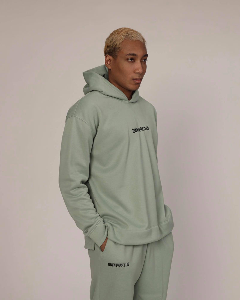 Hoodie (Mint) by Town Park Club