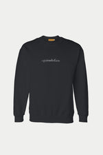 DAVID GUISON #guisadofam SWEATER (Black)