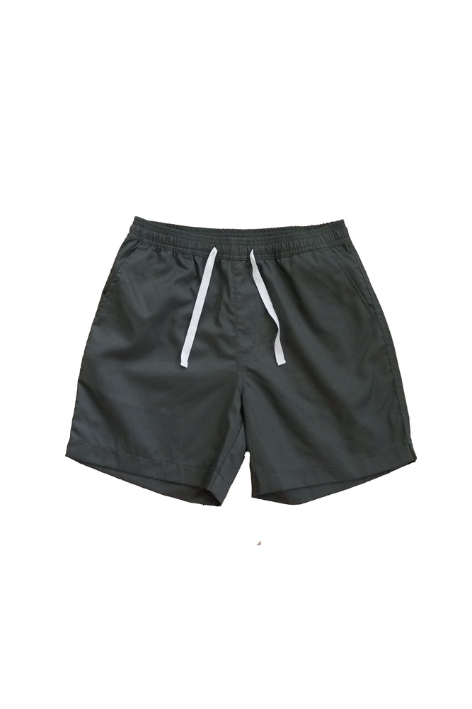 Sprint Cotton Shorts (Dark Fatigue) By HISTORE