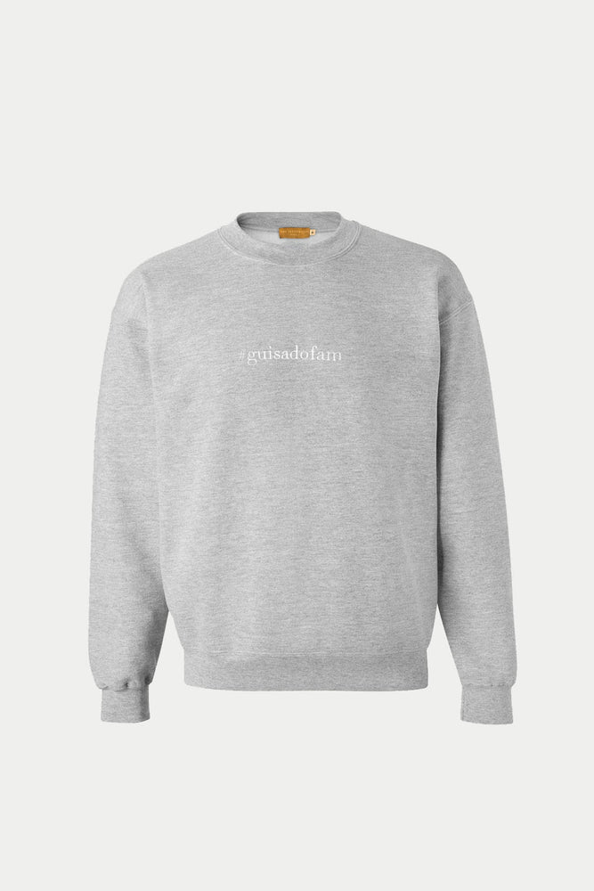 DAVID GUISON #guisadofam SWEATER (Gray)
