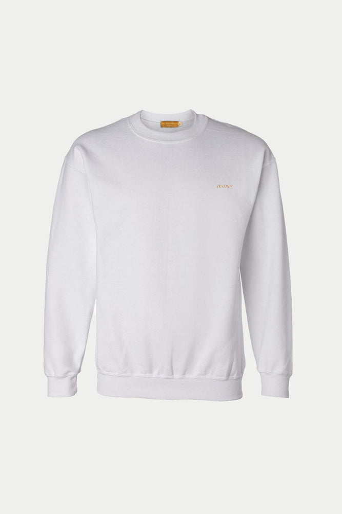 ILSTRDS CREW NECK SWEATER (White)
