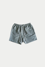 LINEN SHORTS (Metal Green) - ILUSTRADOS