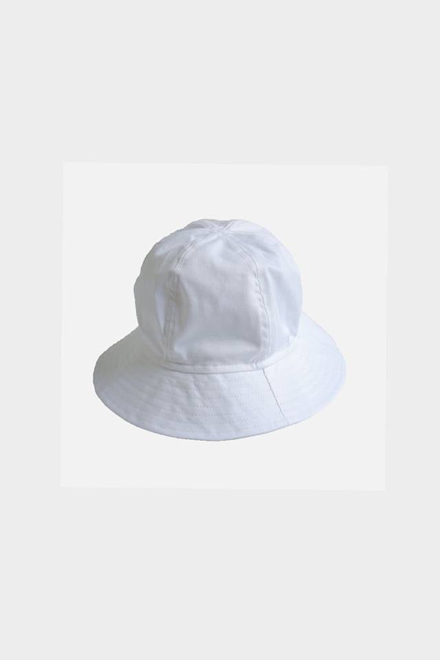 HOVERMEN - 6 panel Twill Bucket Hat (Pure White)