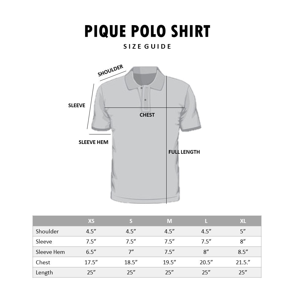 HOVERMEN - Pique Polo Shirt (Heather Gray) (4493557661773)