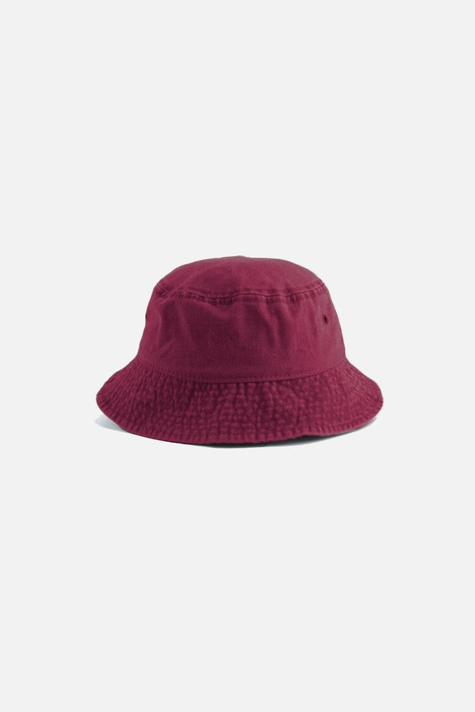 Austin Bucket Hat (Burgundy)