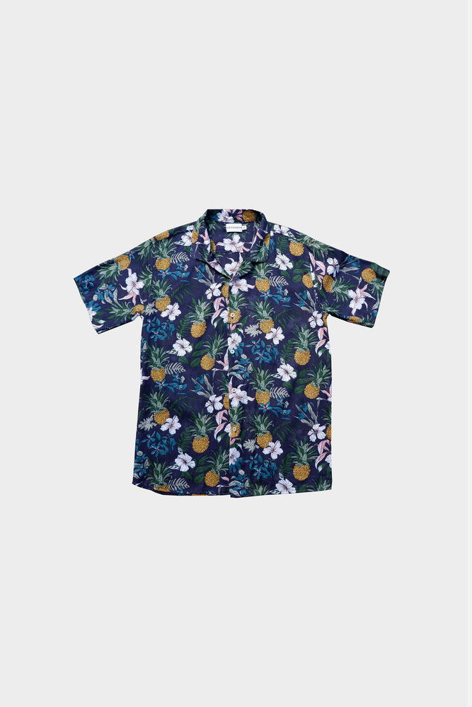 Torio - Printed Cuban Shirt by HOVERMEN (4476635611213)
