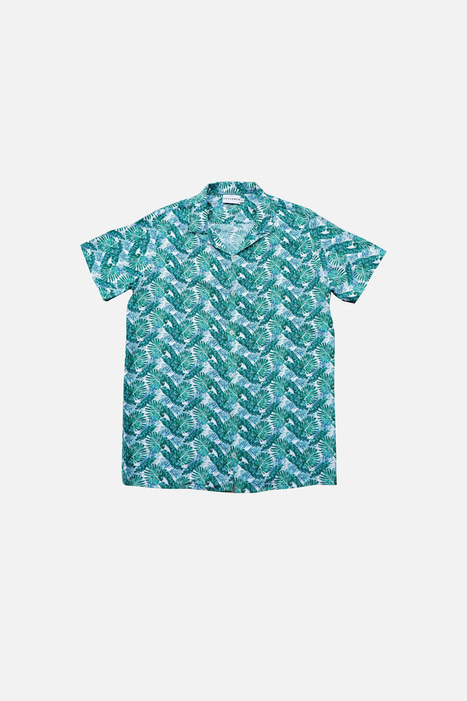 Dante - Printed Cuban Shirt by HOVERMEN (4476636659789)