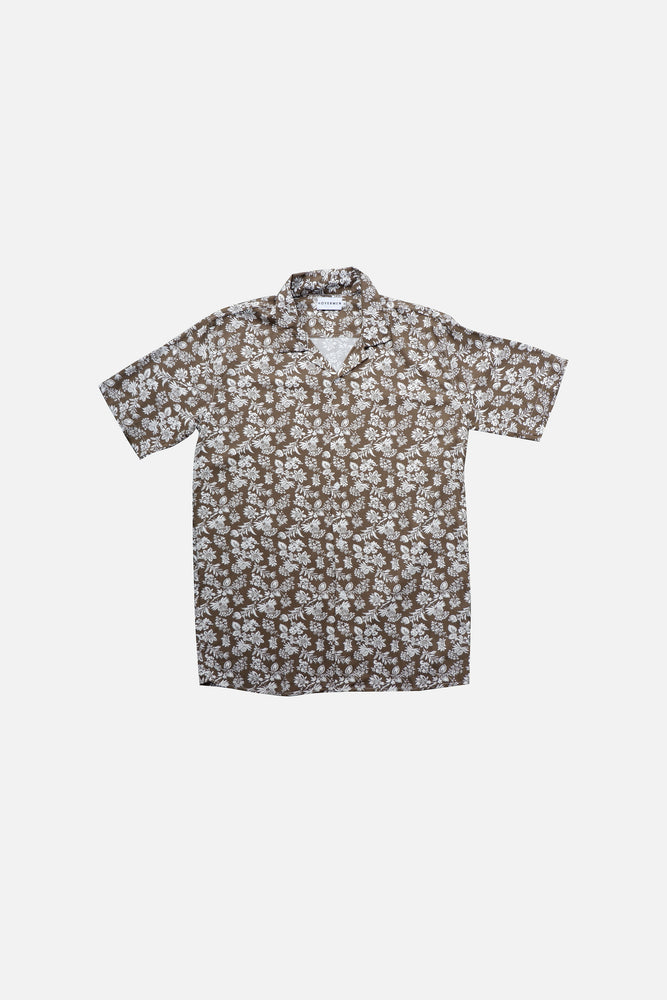 Lucero - Printed Cuban Shirt by HOVERMEN (4476637970509)
