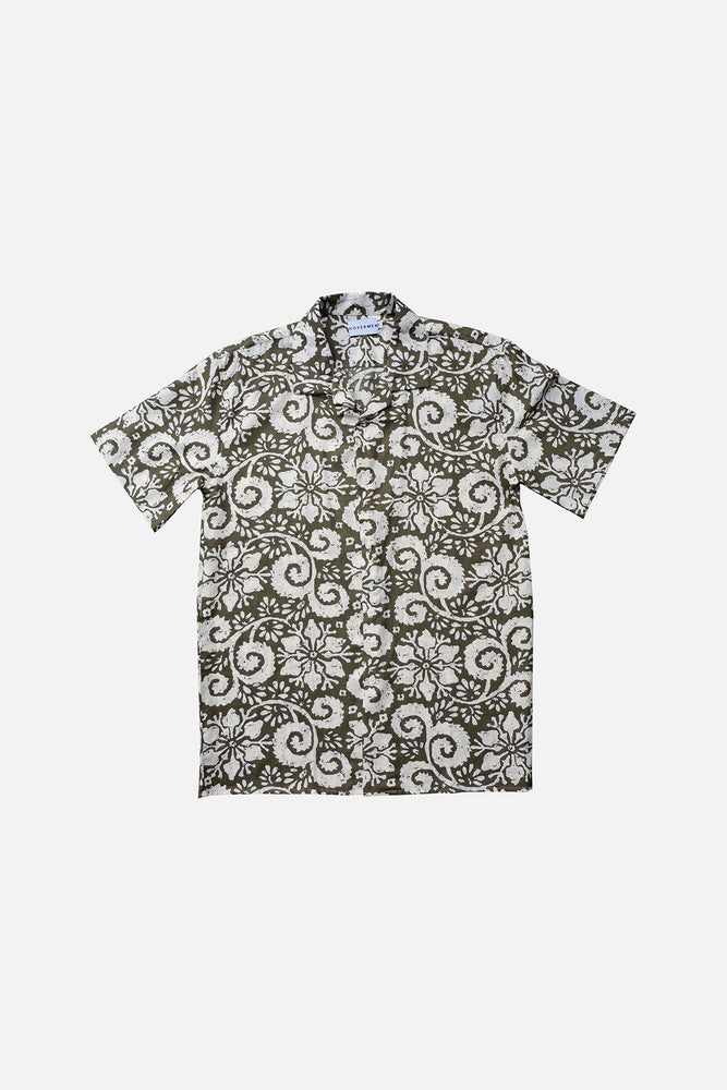 Padilla - Printed Cuban Shirt by HOVERMEN (4476638691405)