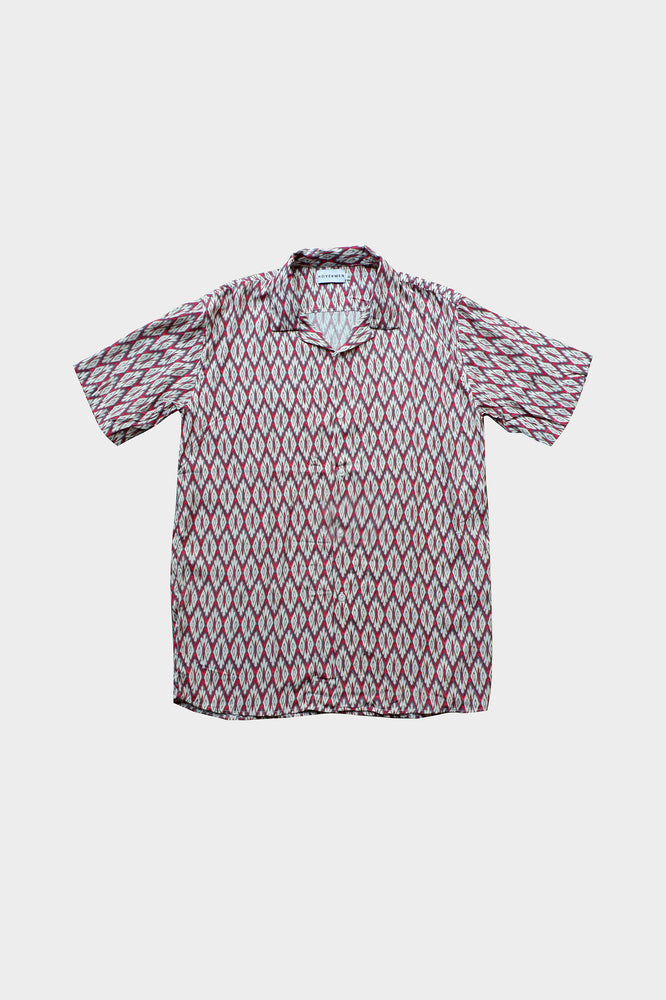 Samuel - Printed Cuban Shirt by HOVERMEN (4476645408845)