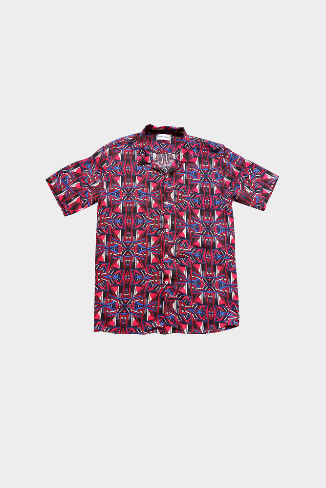 Paquito - Printed Cuban Shirt by HOVERMEN (4476646195277)