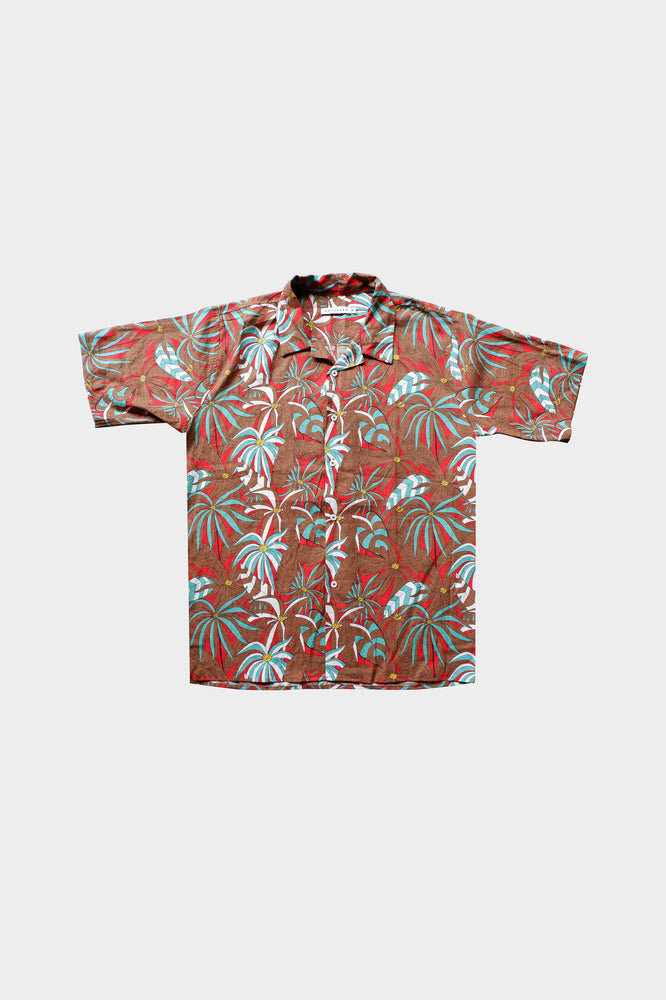 Ponce - Printed Cuban Shirt by HOVERMEN (4476650815565)